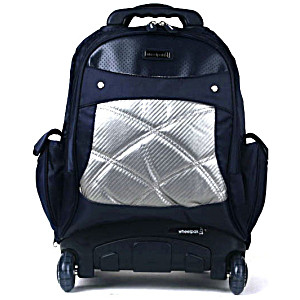 Школьный рюкзак на колесах – ранец Wheelpak Cosmo Navy – арт. WLP2157 (для 3-5 класса, 21 литр)