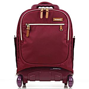 Школьный рюкзак на колесах – ранец Wheelpak Classic Wine – арт. WLP2200 (для 3-5 класса, 21 литр)