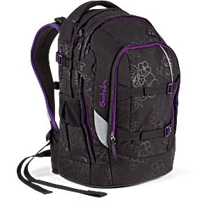 Satch Pack рюкзак для школьника цвет Purple Hibiscus