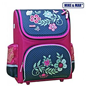 Школьный рюкзак раскладной Mike&Mar Майк Мар Цветы